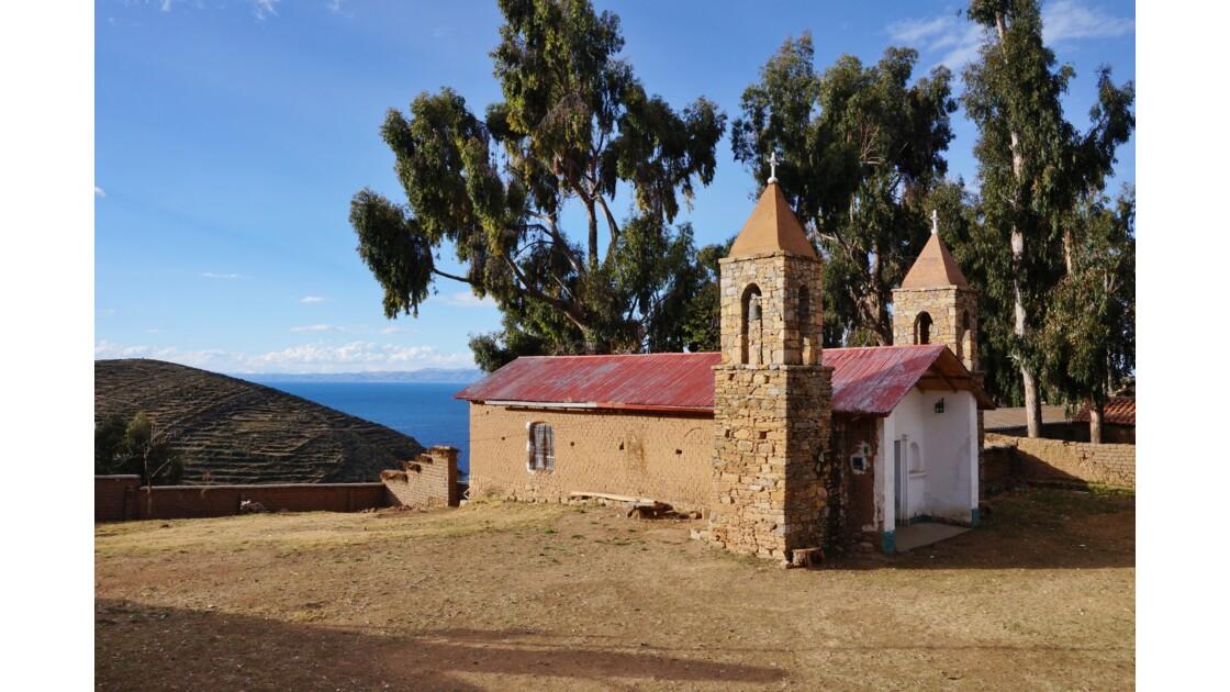 église lac titicaca