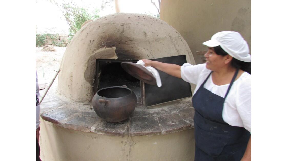 Cours de cuisine Pachamanca