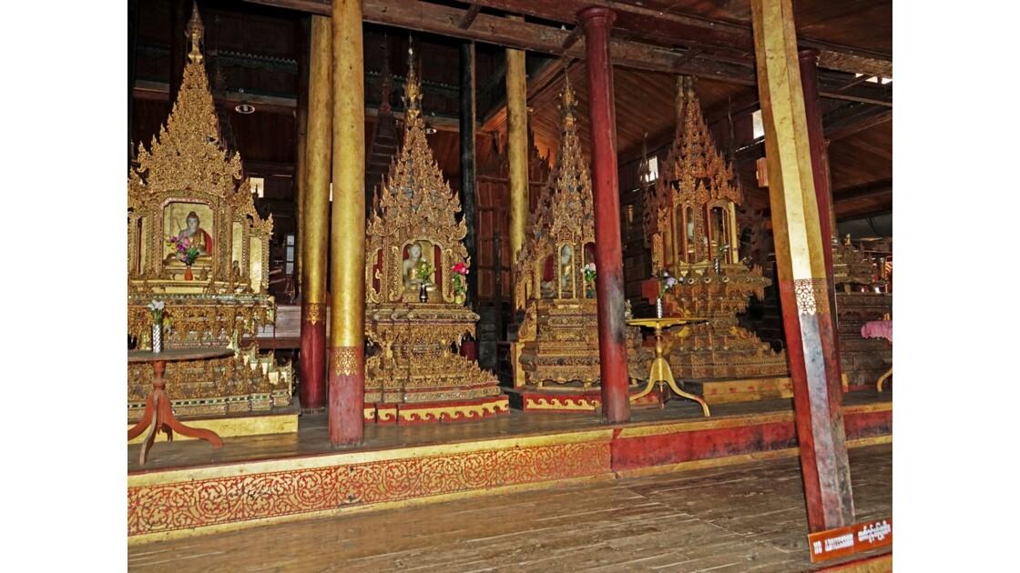 Myanmar Lac Inlé Monastère Nga Hpe 6