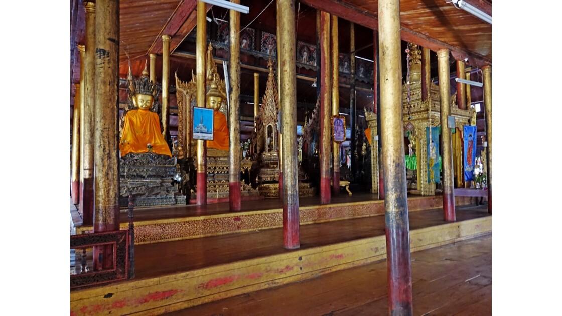 Myanmar Lac Inlé Monastère Nga Hpe 4