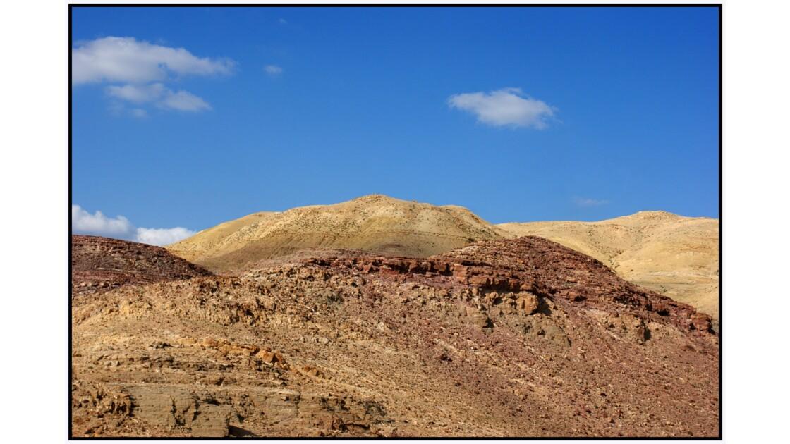 Route entre le Mont Nébo et la Mer Morte