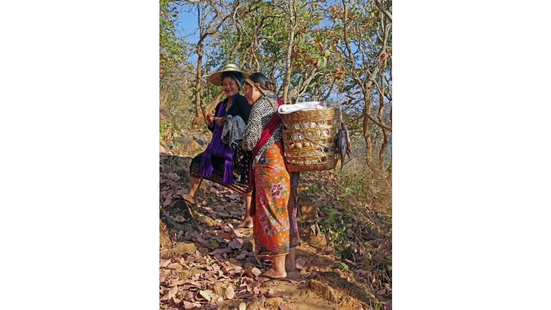 Myanmar Entre les villages de Tale-U et d'Inne de pêche du lac d'Inlé 3