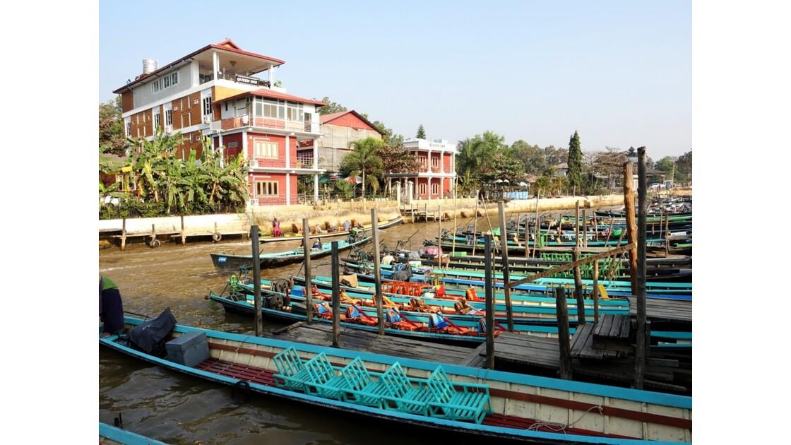 Myanmar Lac d'Inlé Nyaungshwe 1