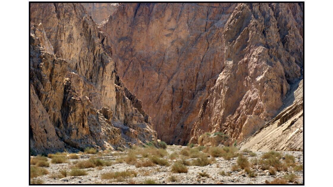Mer Morte - Un des accès du Wadi Mujib