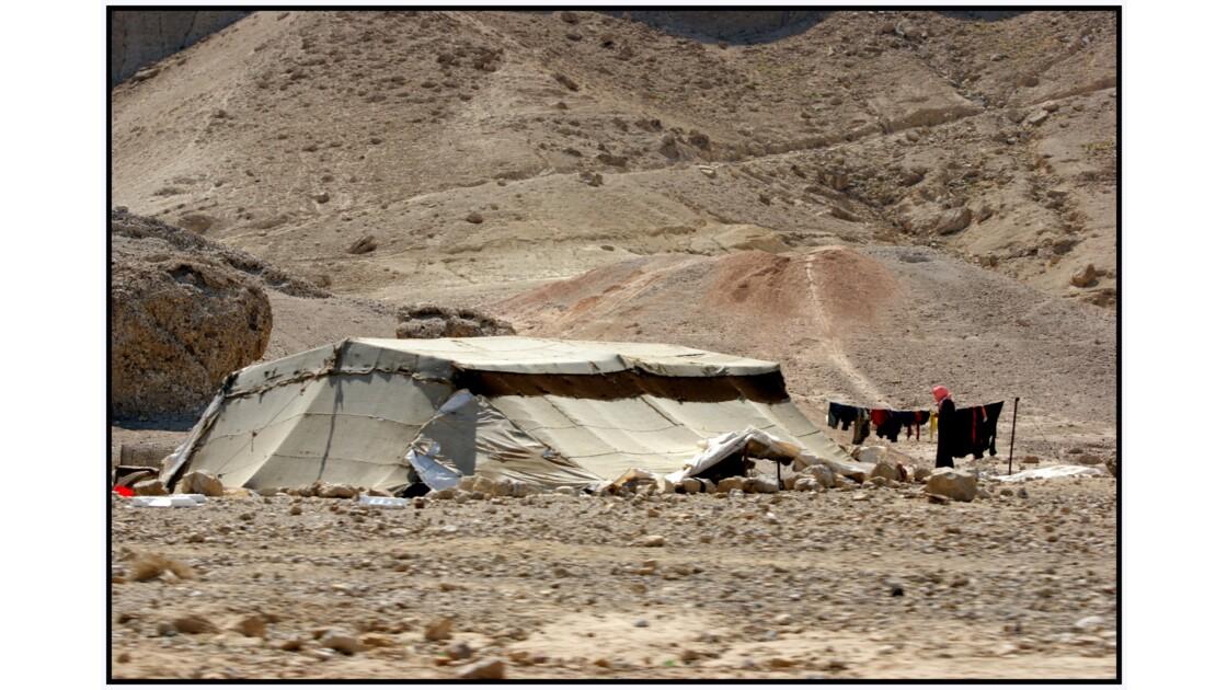 Camp bédouin à Al Mazraa