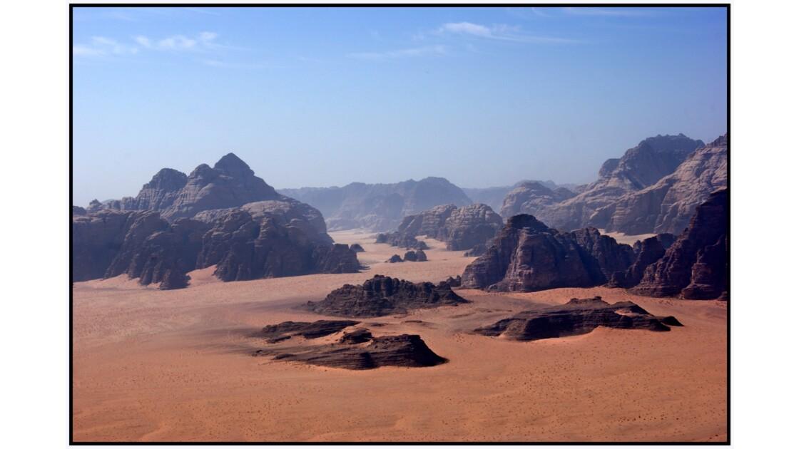Wadi Rum en U.L.M. - Nord de la zone réservée