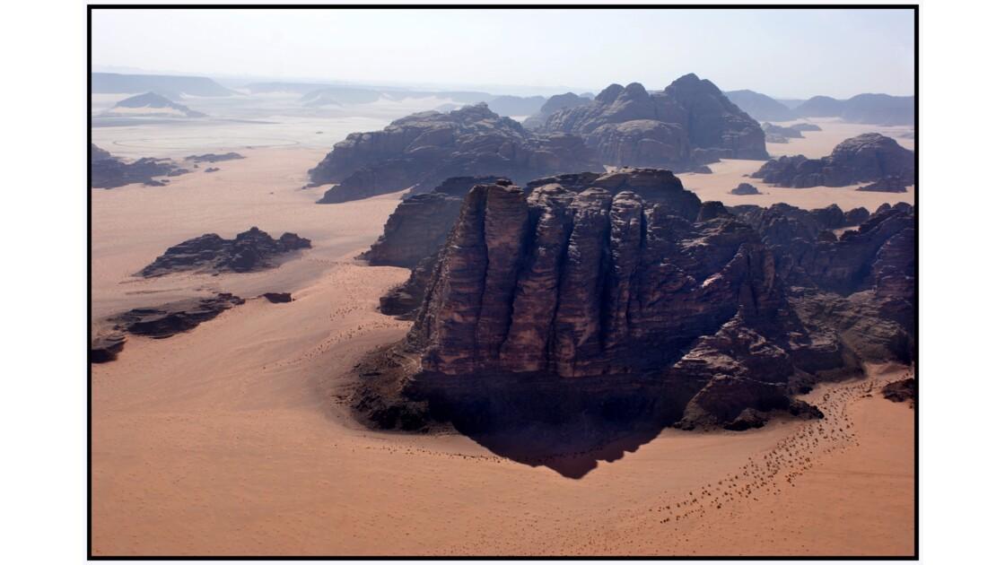 Wadi Rum en U.L.M. - Seven Pillars of Wisdom