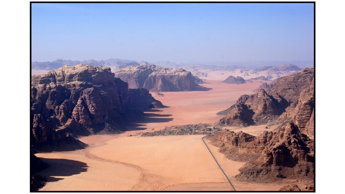 Wadi Rum en U.L.M. - Village de Rum