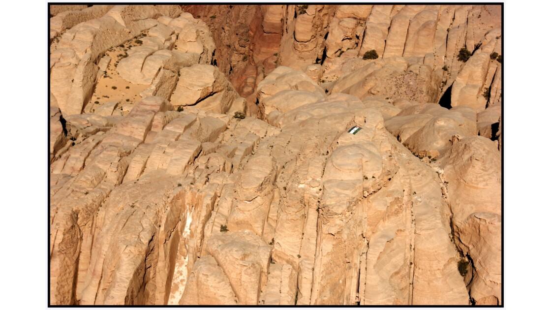 Wadi Rum en U.L.M. - Sommet du Jabal Rum