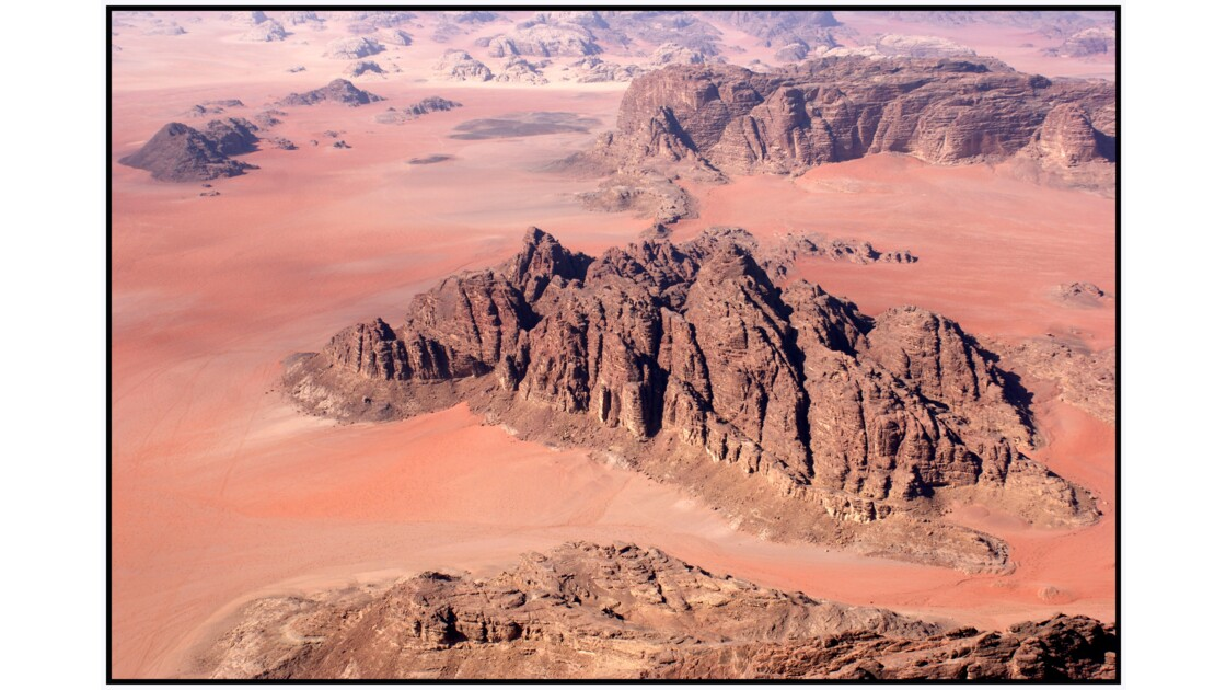 Wadi Rum en U.L.M. - Les couleurs du désert