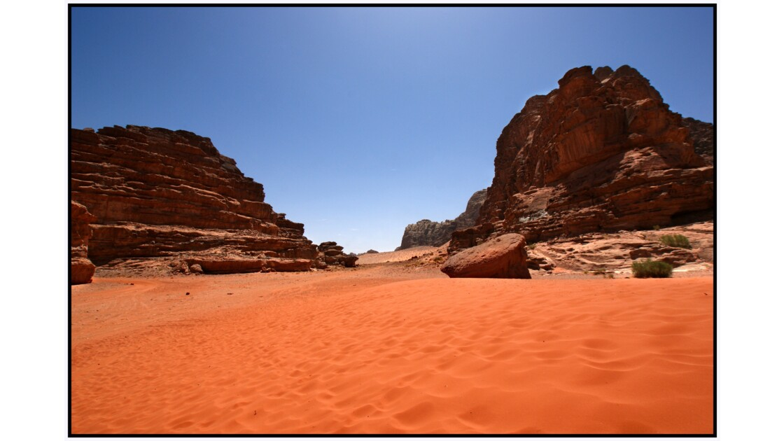 Wadi Rum - Dune de sable rouge au sud d'Anfashieh