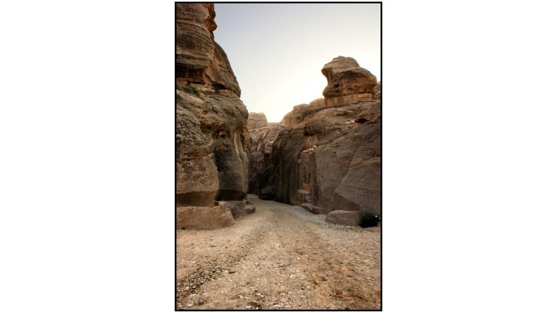 Pétra - Entrée de Bab Es-Siq