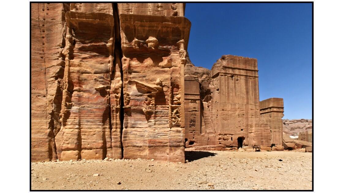 Pétra - Tombeaux de Al-Adriha et Al-Malakiyya