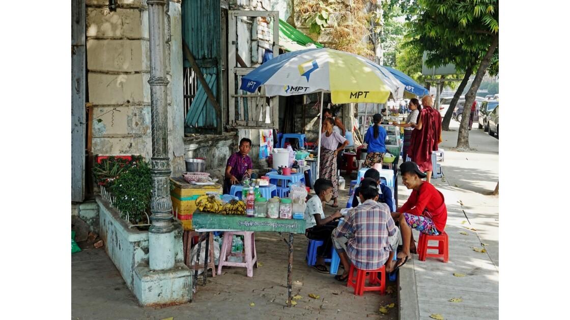 Myanmar Yangon Quartier Colonial 2