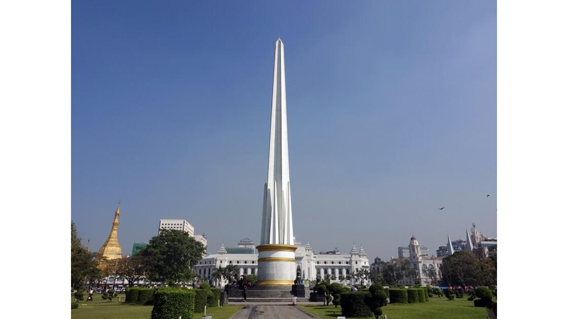 Myanmar Yangon Jardin Mahabandola 2