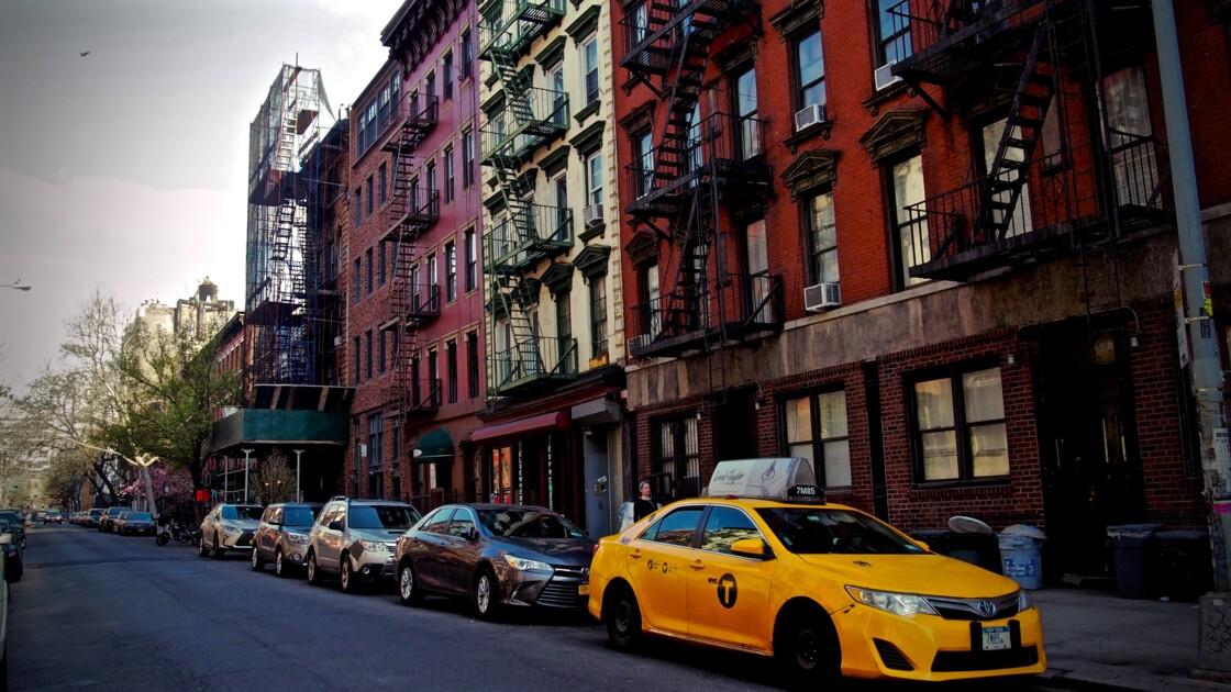 Dans les petites rues de New-York