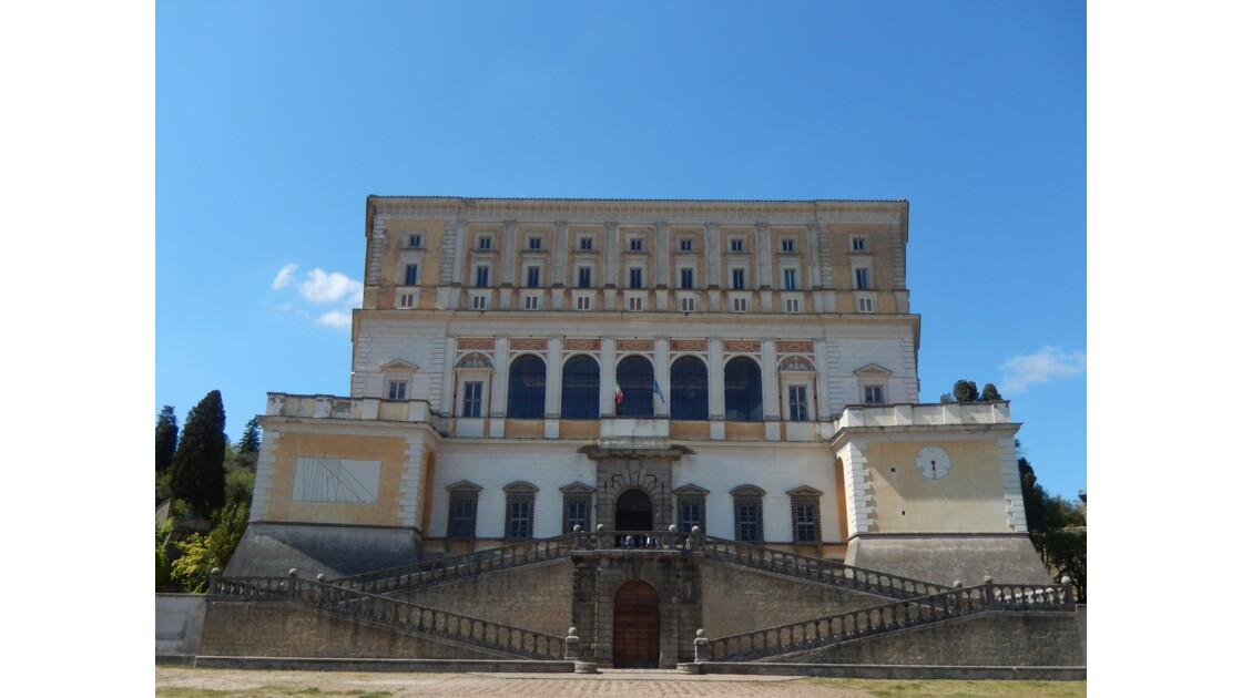 Palais Farnèse de Caprarola