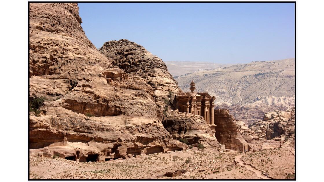 Pétra - El-Deir depuis la fin du monde