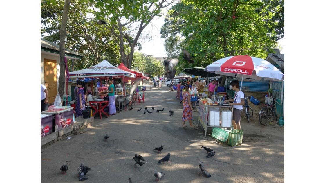 Myanmar Yangon Autour du lac Kandawgyi 2
