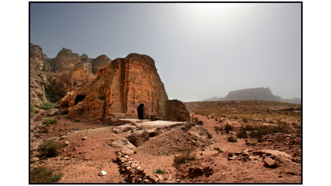 Pétra - Tombeau de Sextius Florentinus et Umm Al-Biyàra