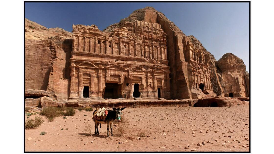Pétra - Les grands tombeaux d'Al-Khubtha