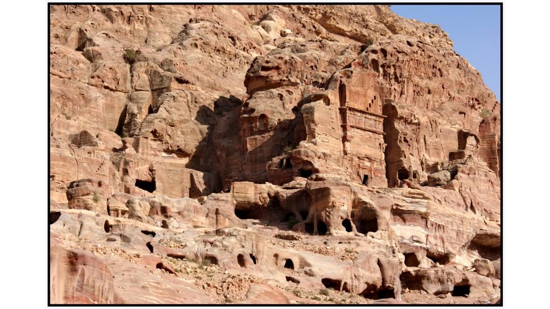 Pétra - Tombeaux anonymes d'Al-Khubtha