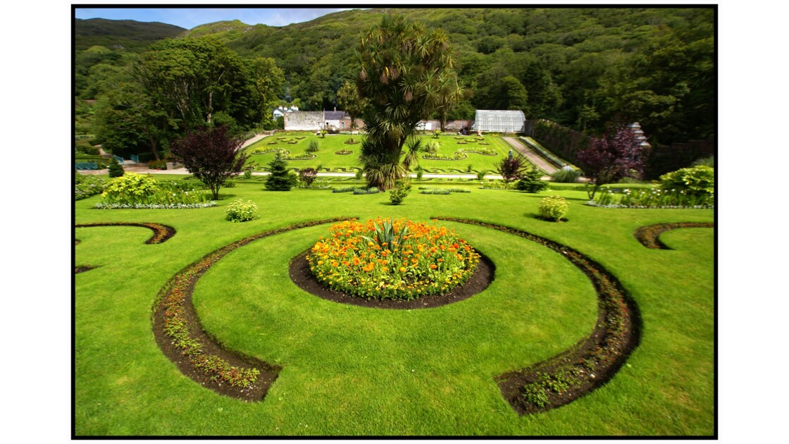 Victorian Walled Garden of Kylemore Abbey