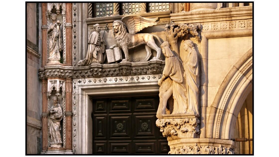 Venise - Palazzo Ducale, Porta della Carta