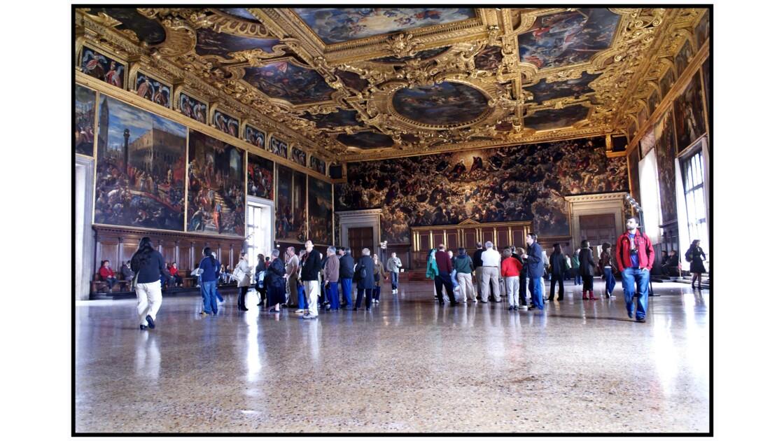 Venise - Salle du Grand Conseil du Palazzo Ducale