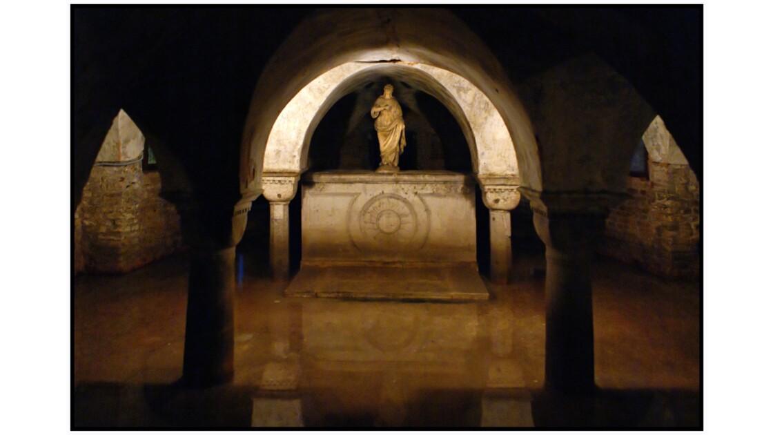 Venise - Crypte de la Chiesa San Zaccaria