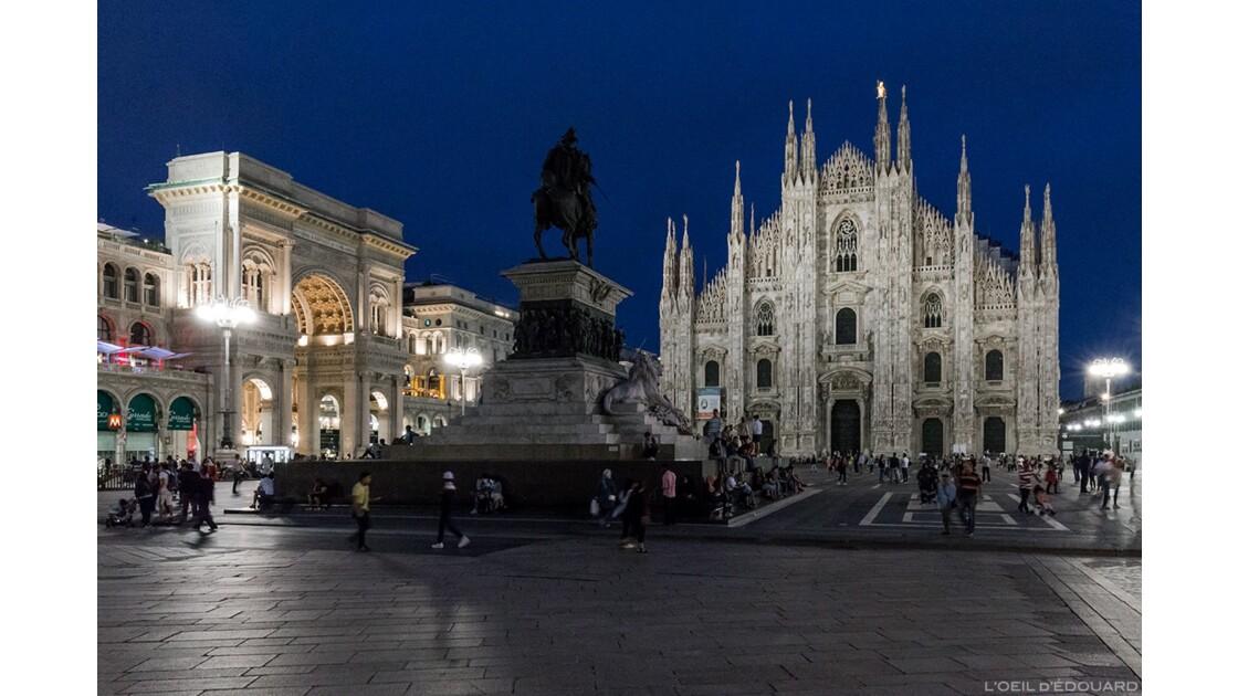 Cathédrale de Milan et Piazza del Duomo