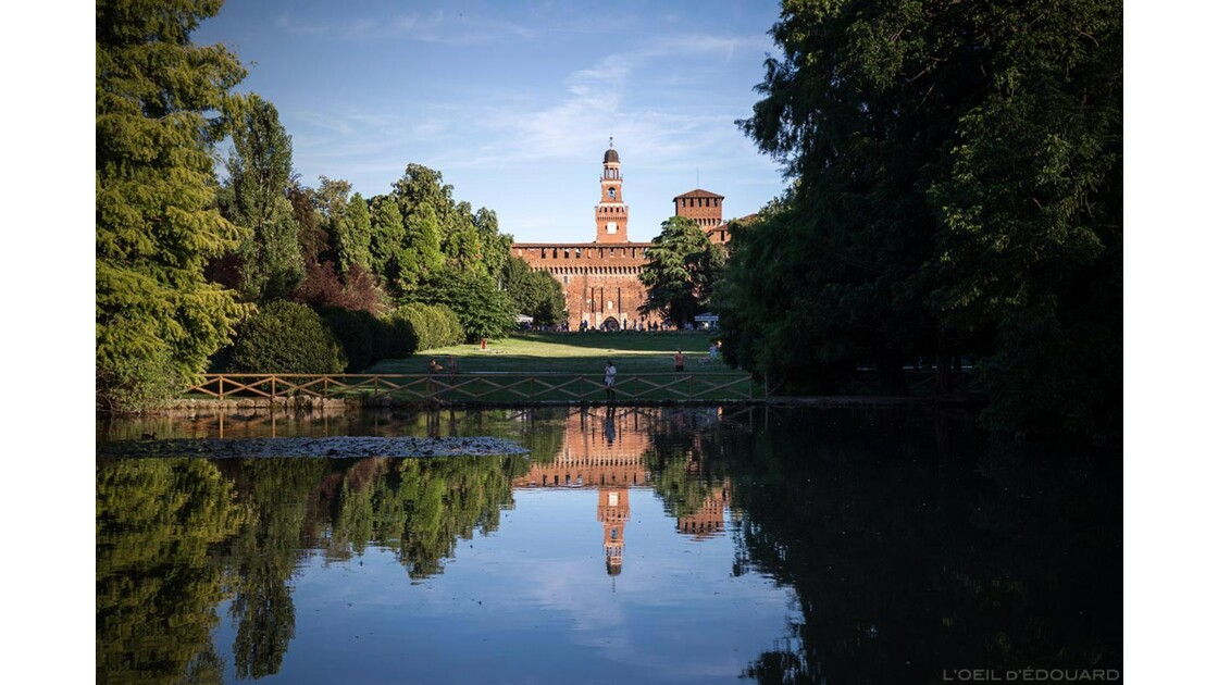 Parco Sempione et Castello Sforzesco, Milan