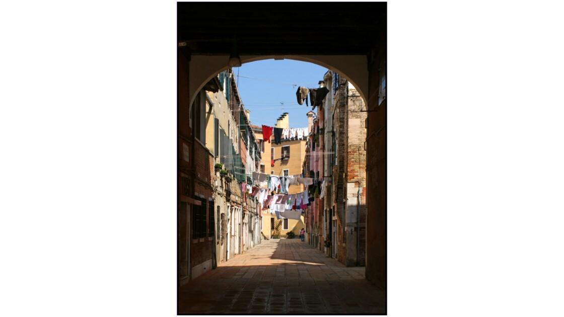 Venise - Calle de la Colonne depuis Riva dei Sette Martiri