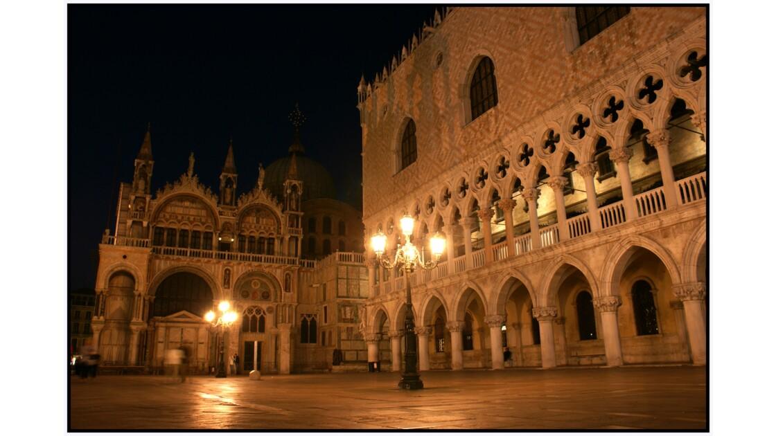 Venise - Piazzetta San Marco Basilica di San Marco et Palazzo Ducale