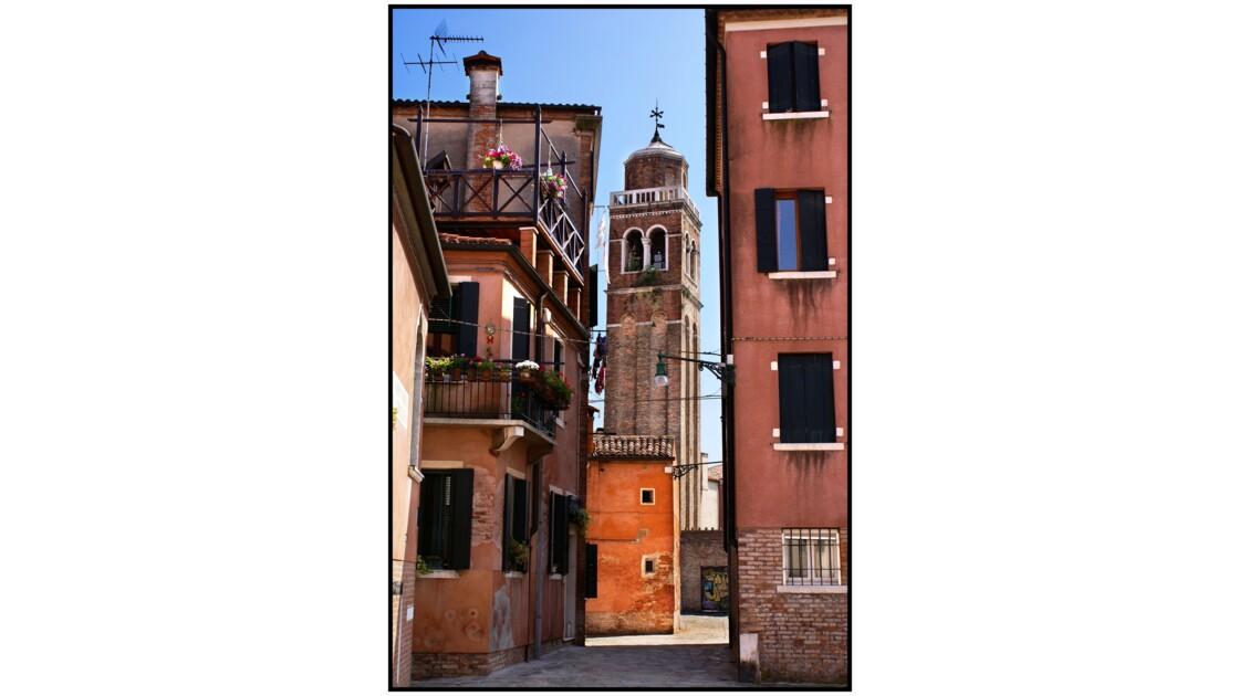 Venise - Clocher de la Chiesa di San Sebastiano