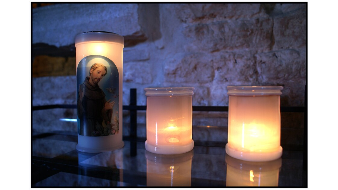 San Francesco del Deserto - Bougies