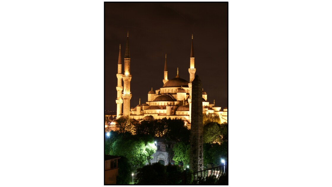 Istanbul - Mosquée Bleue (Sultan Ahmed Cami'i)