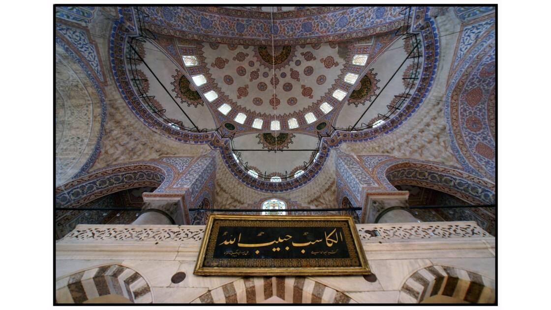 Istanbul - Salle de prière de la Mosquée Bleue