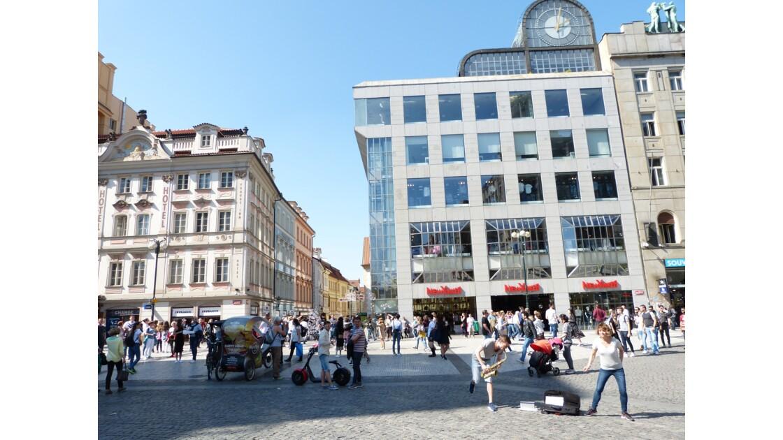Lancer de Bulles à Prague