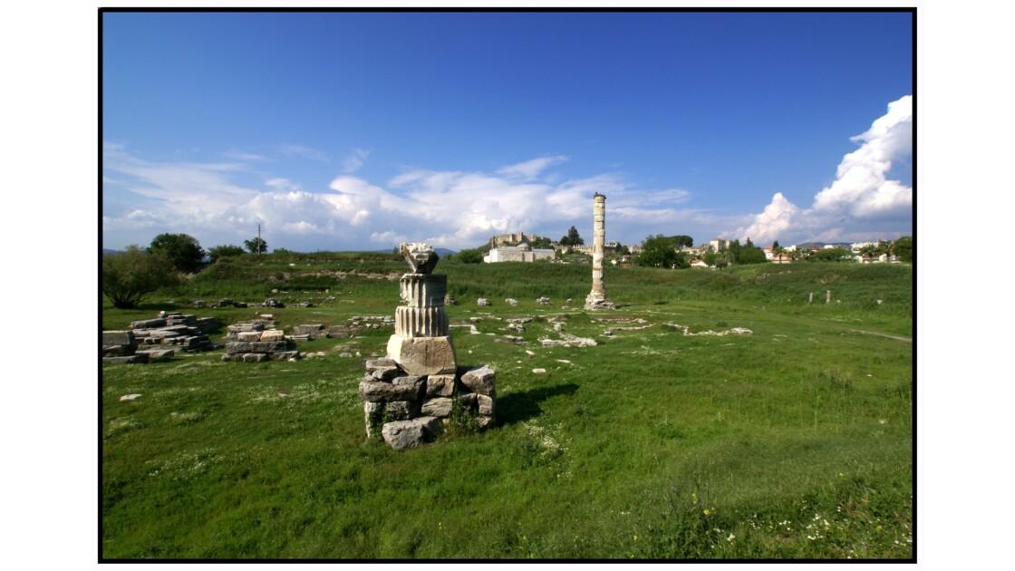 Selçuk, Ephèse - Ce qui reste de l'Artémision