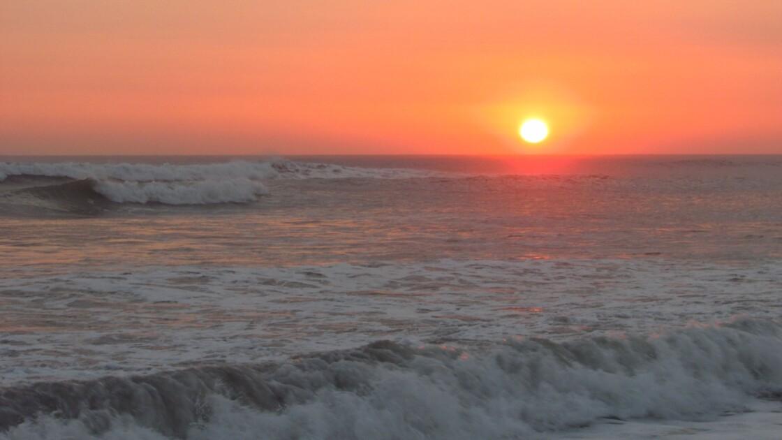 Coucher du soleil Huanchaco