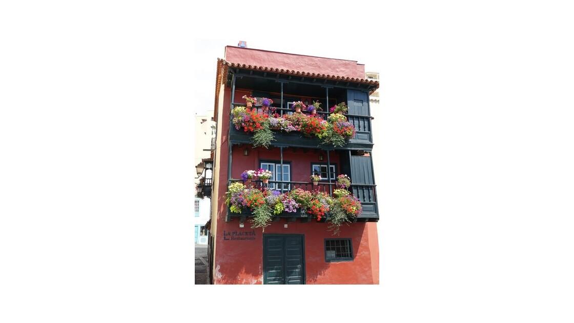 Santa Cruz  de la Palma Casa Felipe le long de l'Avenida Maritima