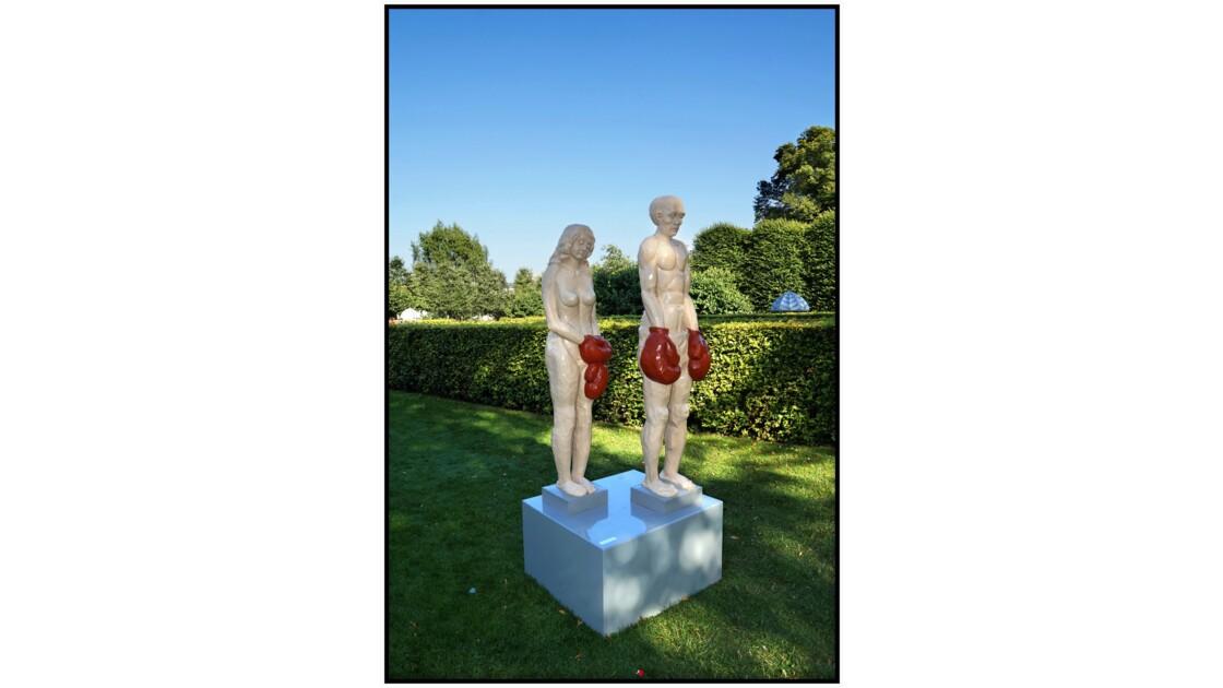København, Kongens Have - Sculpture de Claus Englund Pedersen (2012)