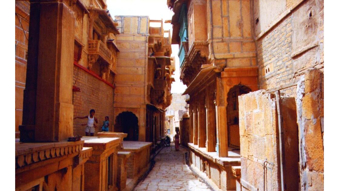 Les rues de Jaisalmer