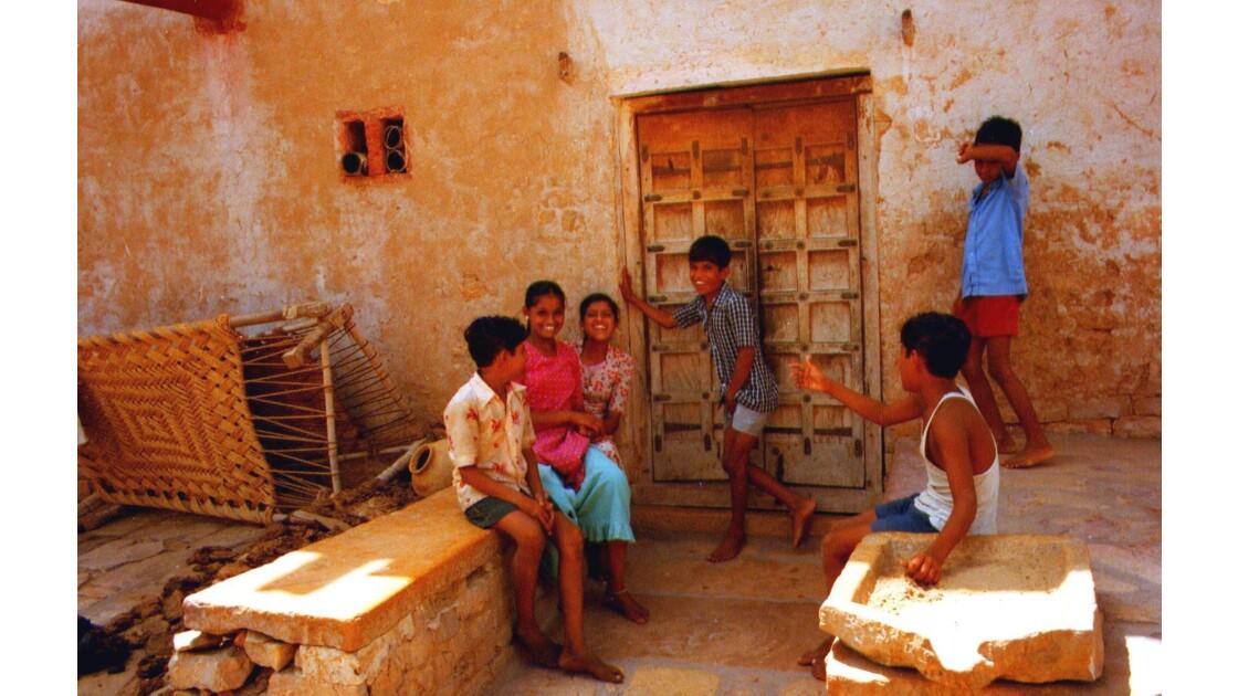 Les enfants de Jaisalmer