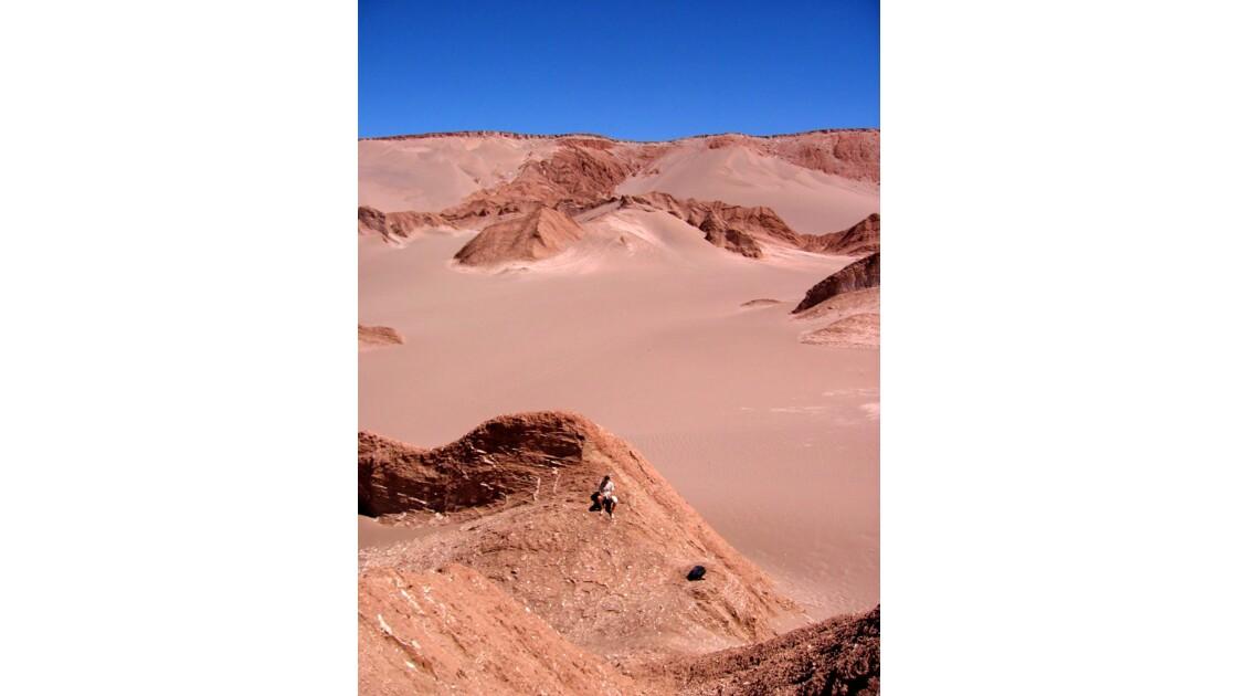 Seuls dans le désert de Atacama