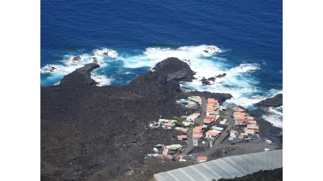 La Palma La côte vue du Volcan Santonio 3