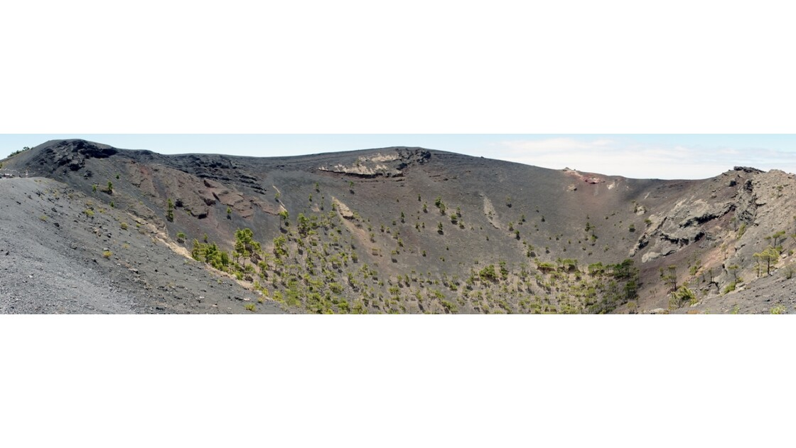 La Palma Cratère du Volcan Santonio 2