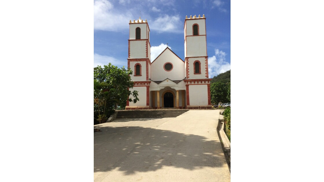 Eglise St Michel  de Rikitea