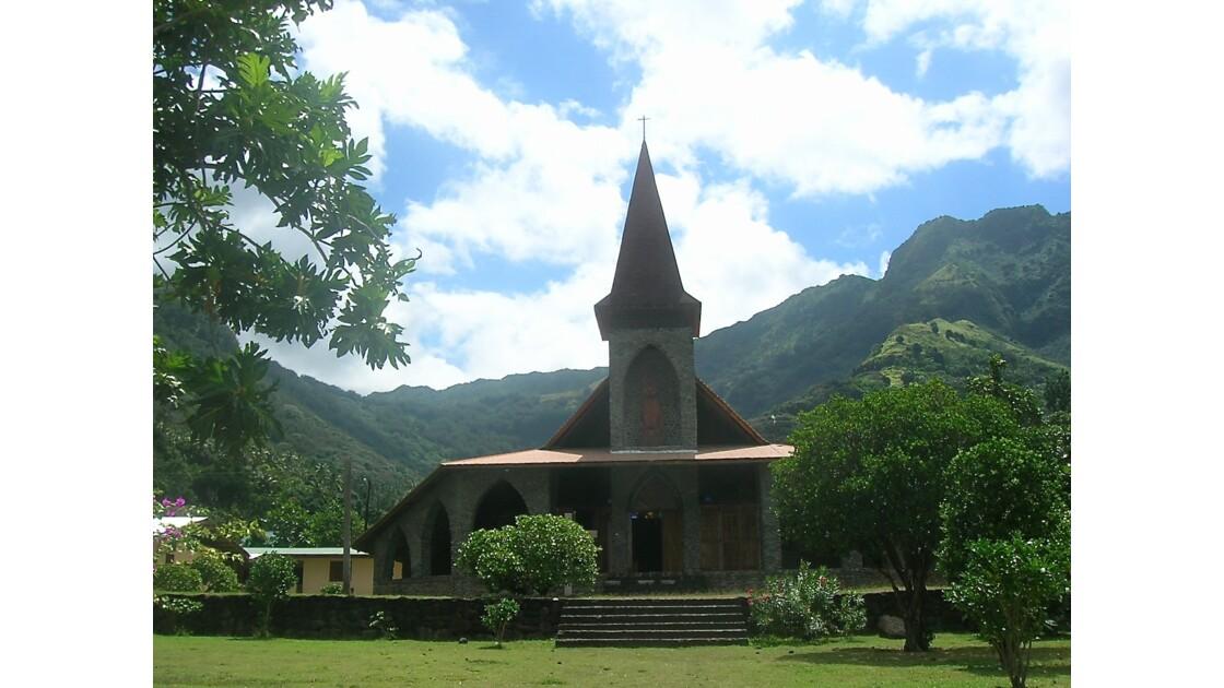 Eglise Mère de Dieu Iles Marquises